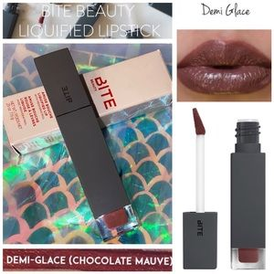 NIB - BITE BEAUTY Liquified Lipstick - DEMI-GLACE